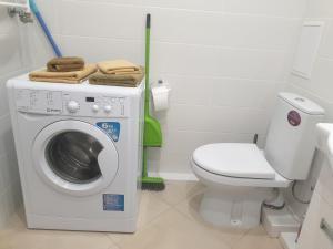 A bathroom at Apartment in Zelenogradsk
