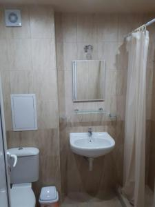 A bathroom at Стаи за гости Зеленика