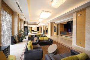 The lounge or bar area at Fimar Life Thermal Resort Hotel