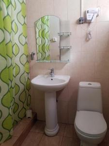 Ванная комната в Астон Отель Джемете