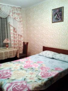 Кровать или кровати в номере Guest House Swetlana