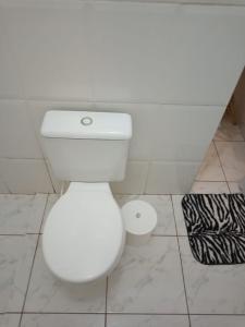 A bathroom at Pousada do Rio Corrente