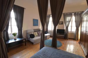 Area soggiorno di Ramova Apartment