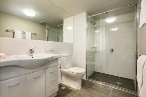 A bathroom at Quest Rockhampton