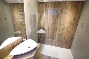 Kúpeľňa v ubytovaní Rainbow Apartments 1 Premium