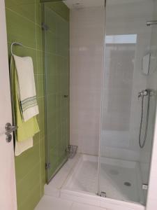 A bathroom at Coração de Viana