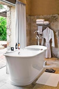 Salle de bains dans l'établissement La Signoria