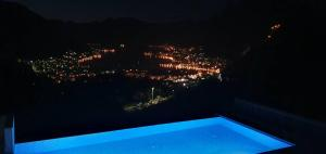 A view of the pool at Deluxe apartment Vidikovac or nearby