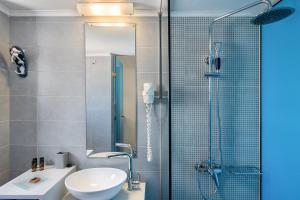 Salle de bains dans l'établissement Magia Apartments