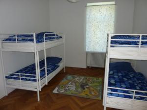 Ein Etagenbett oder Etagenbetten in einem Zimmer der Unterkunft Apartment Villa Elisa