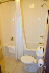 A bathroom at Coast Lethbridge Hotel & Conference Centre