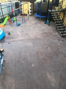 Children's play area at комсомольская 77