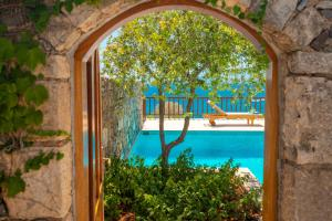 A view of the pool at Elounda Mare Relais & Châteaux Hotel or nearby