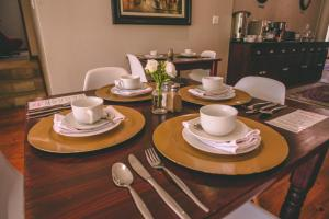 A restaurant or other place to eat at Abiento Guesthouse