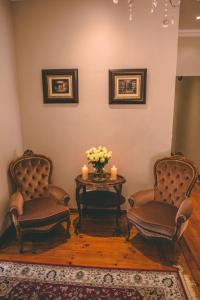 A seating area at Abiento Guesthouse