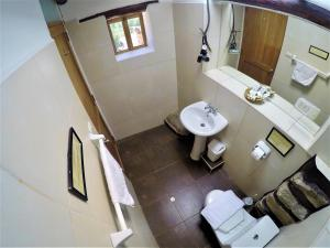 A bathroom at Hostal Iskay