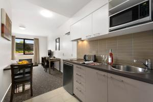 A kitchen or kitchenette at Quest Moorabbin