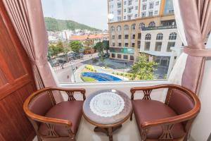 A balcony or terrace at Kyo Hotel
