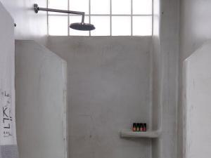 A bathroom at Kalisti Hotel & Suites