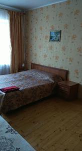 Кровать или кровати в номере Apartment in the Center on Mira