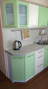 A kitchen or kitchenette at Apartment in the Center on Mira