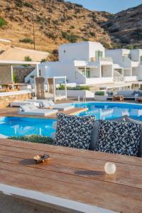 Πισίνα στο ή κοντά στο Levantes Ios Boutique Hotel