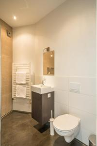 Een badkamer bij B&Bveluwezoom