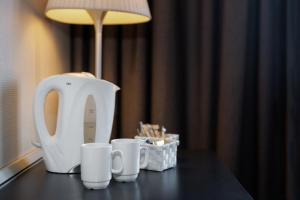 Coffee and tea-making facilities at Quality Hotel Tønsberg