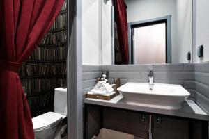 Ванная комната в Отель Лайбрари Белорусская