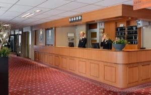 The lobby or reception area at Amrâth Hotel Brabant