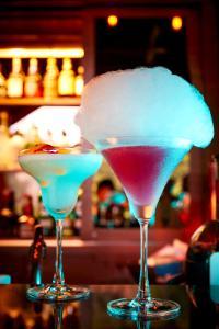 Drinks at The Banjaran Hotsprings Retreat