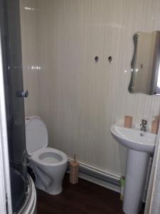 Ванная комната в Guest House Danghina