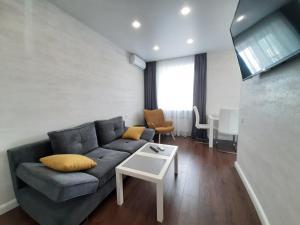 Гостиная зона в Apartment на Ленинском проспекте 29, Колибри в Центре