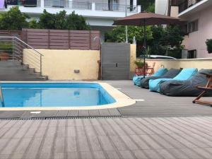 Πισίνα στο ή κοντά στο Christina Studios & Apartments