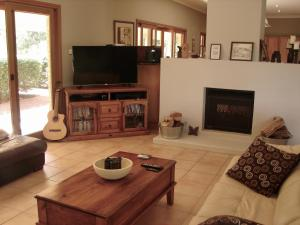 A television and/or entertainment center at Tranquil Vistas