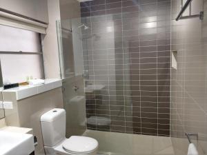 A bathroom at North Melbourne Retreat