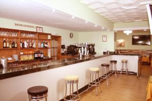 The lounge or bar area at Balneario de Alhama de Granada