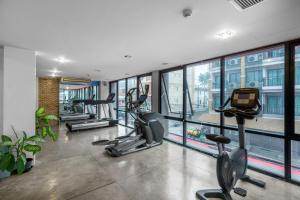 The fitness center and/or fitness facilities at The Lantern Resorts Patong