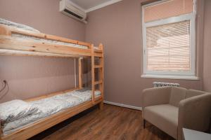 A bunk bed or bunk beds in a room at Hostel Manjari