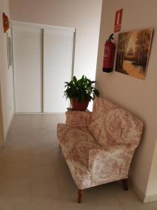 A seating area at Apartamentos Hacienda de Arna