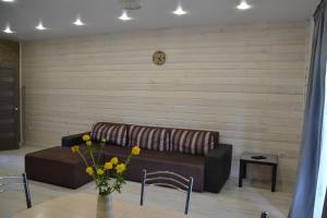Гостиная зона в Бунгало Черемушки