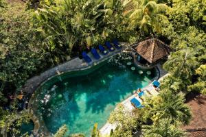 A bird's-eye view of Tonys Villas & Resort