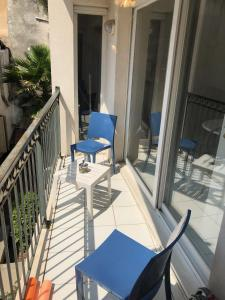 A balcony or terrace at Riviera Beach and Palais