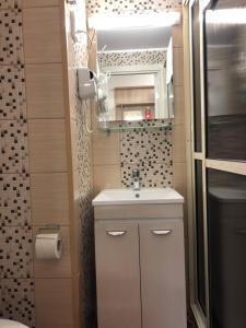 Ванная комната в Гостиничный комплекс Светогорск