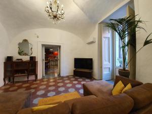 Coin salon dans l'établissement Spanish Palace Rooms, Apartment & Terrace
