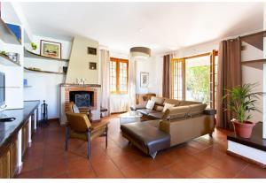 A seating area at Casa del Sole