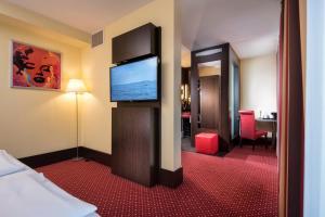 TV/Unterhaltungsangebot in der Unterkunft Best Western Plaza Hotel Hamburg