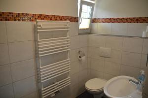 Ein Badezimmer in der Unterkunft Bergpanorama Ruhla