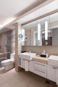 A bathroom at Citadines Salcedo Makati
