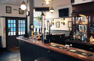 The lounge or bar area at St Christopher's The Inn - London Bridge